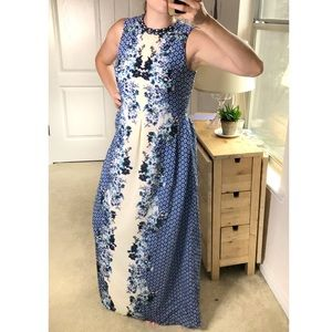 Anthropologie Ranna Gill Chameli Floral Maxi Dress